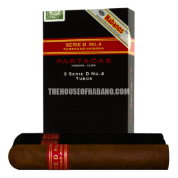 PARTAGAS SERIE D NO.4 - Pack of 3